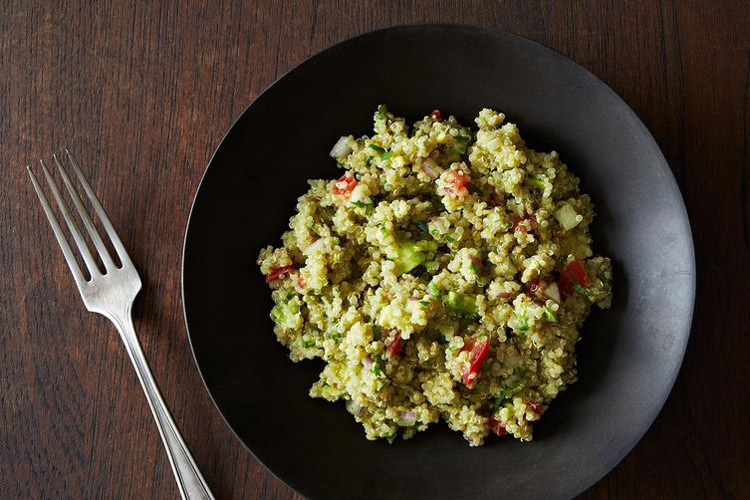 Smoky 13 Bean, Pork And Quinoa Salad With Avocado Recipes — Dishmaps