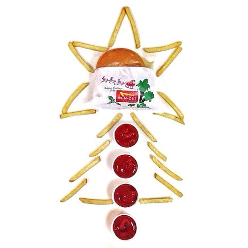 Merry Christmas from In-N-Out Burger. Photo: