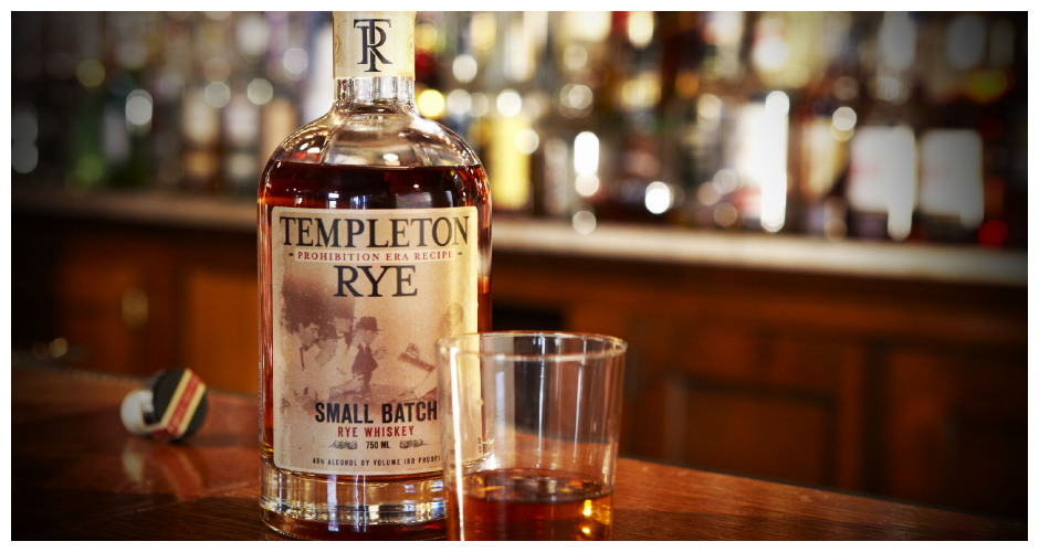 TEMPLETON RYE Templeton is still made from the original Kerkhoff family recipe, which has an unusually high mash content. The whiskey has a mashbill of 90% rye grains and 10% barley. Tastes like: Christmas spice.Available at: Binny's Beverage Depot.(Photo: Templeton Rye)