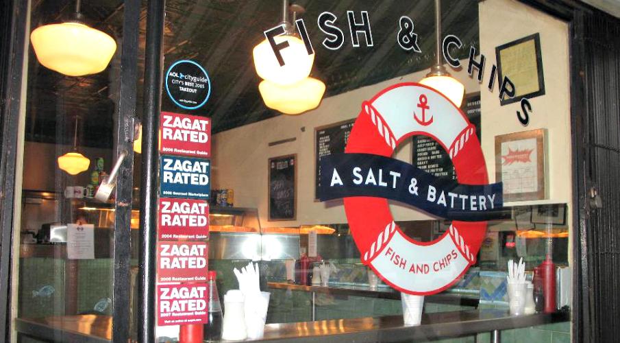 A Salt & BatteryNew York, NYPhoto: Road Food