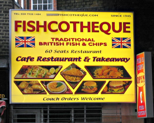 FishcothequeSouthwark, LondonPhoto: Flickr