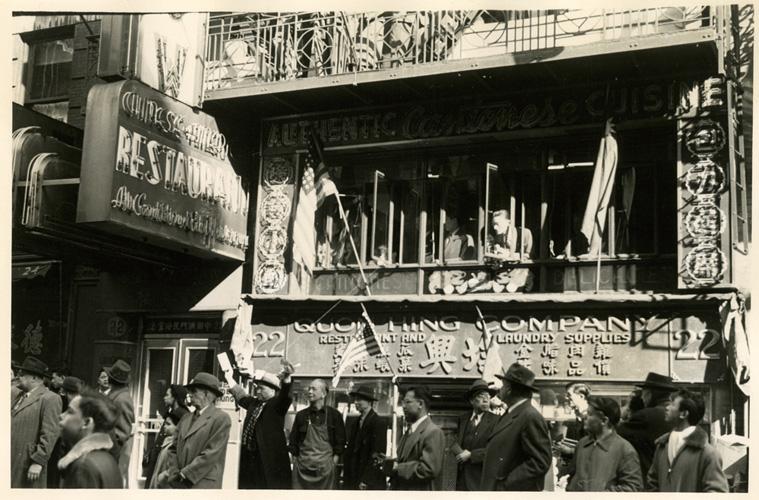 Chinatown, 1945