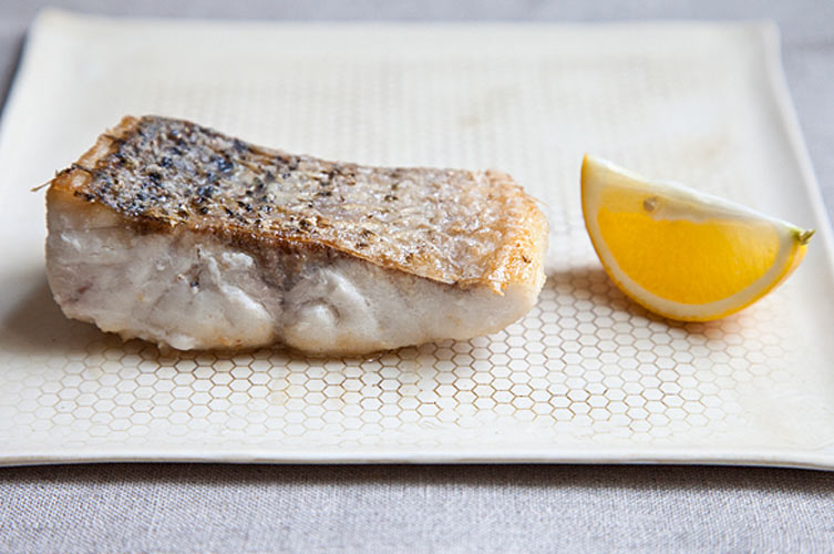 Le Bernardin's Crispy Skinned Fish. This recipe is ridiculously simple—5 ingredients, including salt and pepper—but you would never know it by tasting the tender, crunchy-skinned final product.