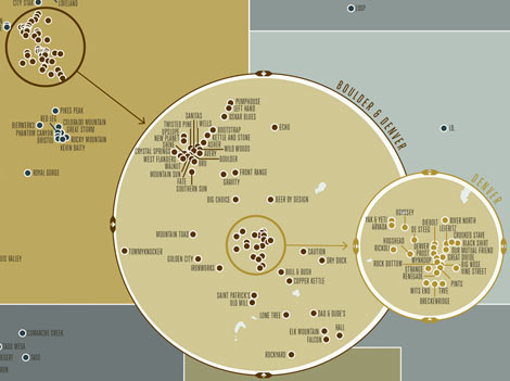 Calling All Beer Nerds This Incredibly Detailed Craft Brewery Map