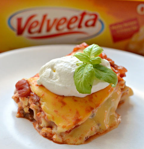 CHEESY SALSA LASAGNAVelveeta adds a creamy, rich, cheesy flavor that mozzarella and ricotta just can't compete with. Sometimes, lowbrow versions of Italian classics are just so typically American and essential to life.