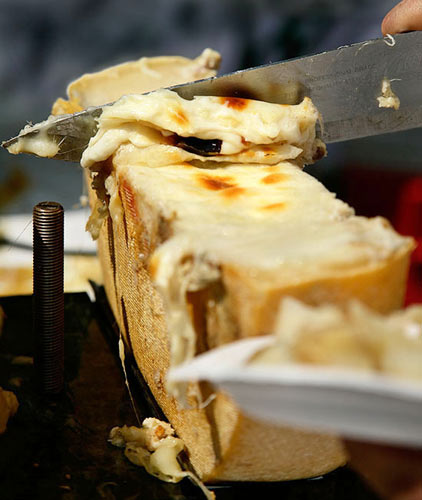 Melty Raclette from French a la Carte (Photo: