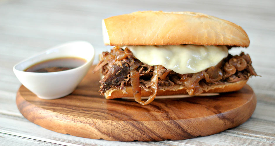 French Dip Sandwiches Au Jus recipe (Photo: