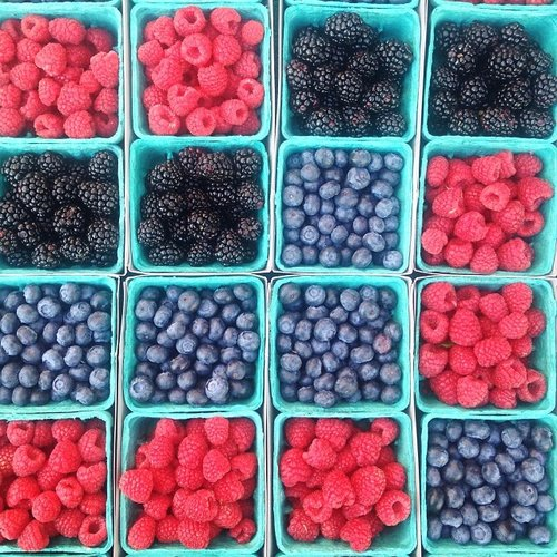Berries, berries, and more berries. Photo:
