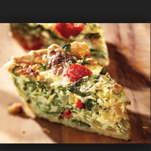 Quiche, the savory morning pie of dreams. Photo: