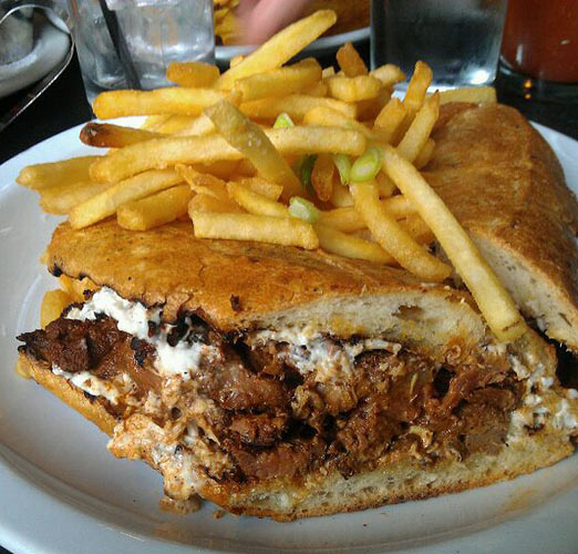 Filet mignon French dip at Walter Foods (Photo: