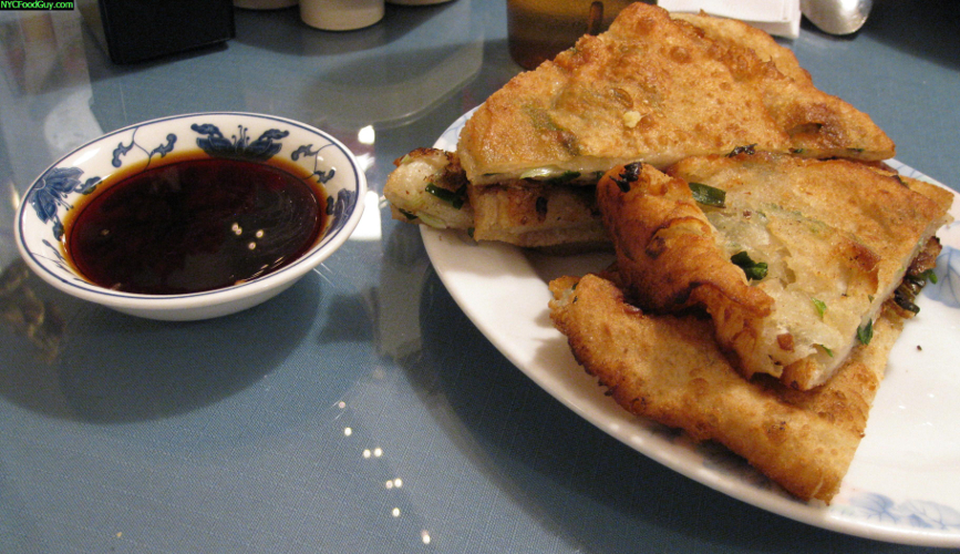 Scallion pancakes at Mee Noodle Shop (Photo: NYC Food Guy)