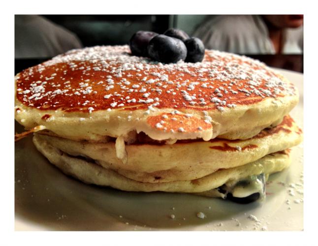 Pancakes at Lure Fish Bar (Photo: Lure Fish Bar Tumblr)