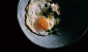 This barely-there sunny side up egg looks straight up sexy. Photo: @cannellevanille