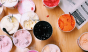 Food & Wine may have missed the memo that there's a blizzard outside. Regardless, check out the creative and colorful ice cream flavors from Salt & Straw, like tomato water-olive oil sherbet and goat cheese-marionberry-habanero. Photo: @foodandwine