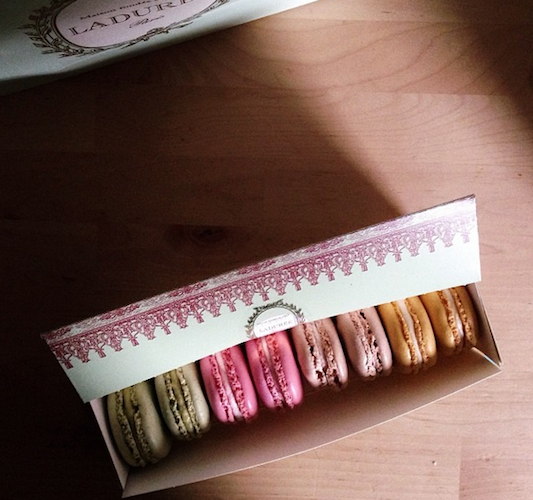 Wait, you get to go to Ladurée for work? #foodstylistperks Photo: @rebekahpeppler
