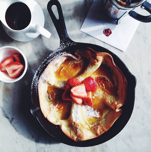 The best Sunday morning breakfast we can think of. Photo:  @fortheloveofthesouth