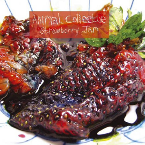 """Artist: Animal Collective Album title: Strawberry Jam (2007)Buy it here: Lennox wanted the production of the album to sound like the jam looked—""""that is to say, something that's really synthetic and sharp and futuristic looking,"""" but also """"tangy and sweet, almost in a kind of aggressive way in terms of the way it tastes."""""""