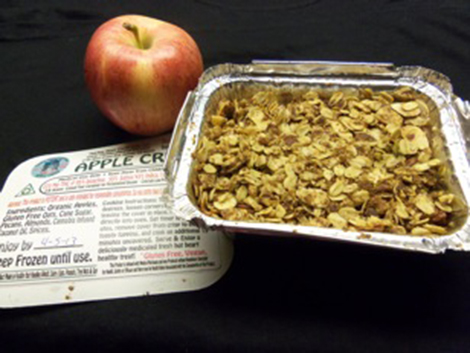 apple crisp cooked 1