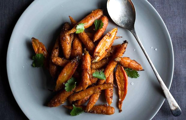 Steam-Roasted Carrots with Cumin. The sexiest carrots you'll ever make, and a new method for all of your carrots henceforth. If you don't have any of these spices, or if you don't want to use them, skip them—the beauty of this recipe is in the method.