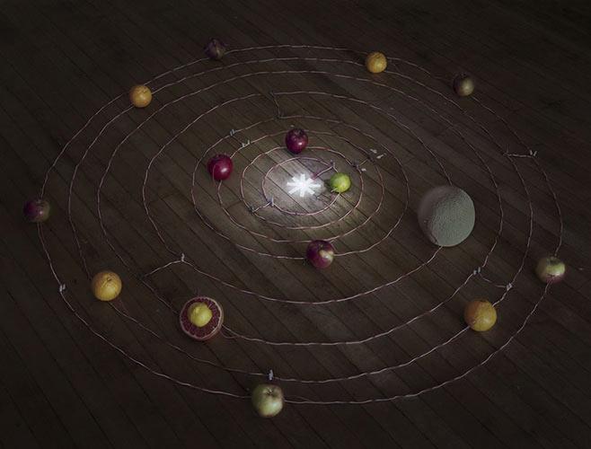 Fruit Battery Solar System 2014