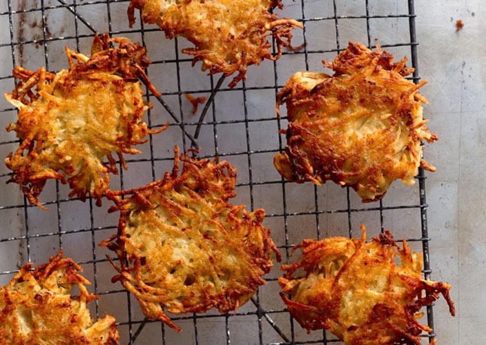 Latkes, or potato pancakes (Photo: