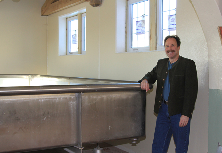 Dan Carey of New Glarus Brewing (photo courtesy New Glarus)