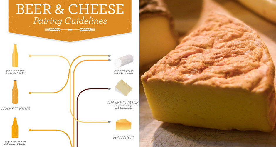 This Beer and Cheese Pairing Chart Is So Essential | First We Feast