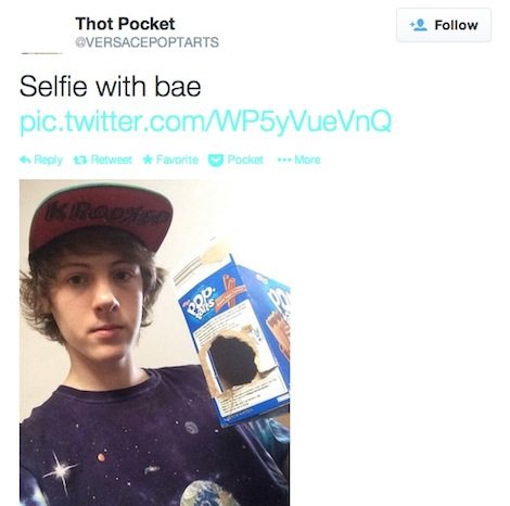 thotpocket3 I Would Definitely Recommend It: An Exclusive Interview with the Kid Who Got Suspended from Vine for Having Sex with a Hot Pocket