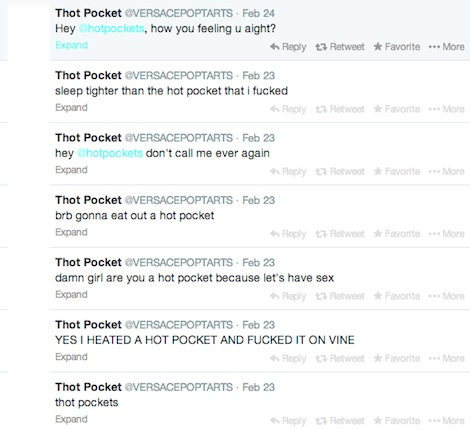thotpocket5 I Would Definitely Recommend It: An Exclusive Interview with the Kid Who Got Suspended from Vine for Having Sex with a Hot Pocket