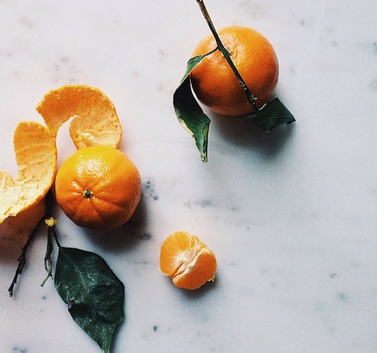 A lovely snap of citrus to get you through the last days of winter. Photo: @lindaspeakeasy