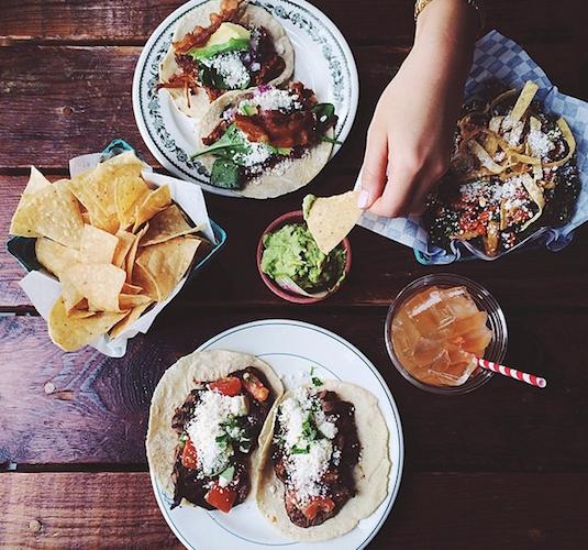 Photographer Ruben Hughes captures the ultimate Mexican meal.  Photo: @rubenhughes