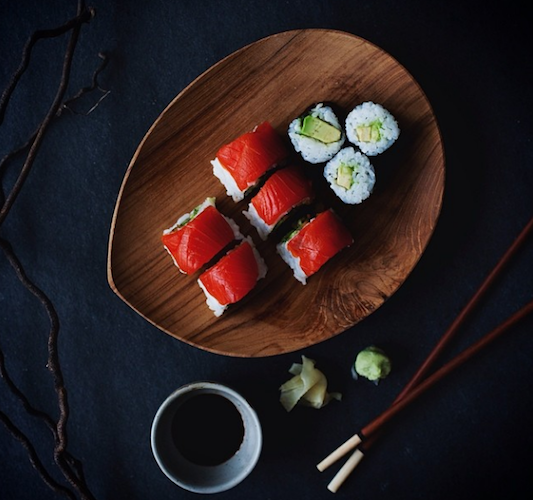 This sushi looks almost too good to eat. Almost. Photo: @sliceofpai