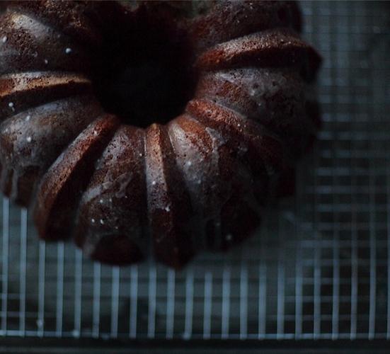 A beautiful, boozy, rum bundt cake. Photo: @leciaphinney