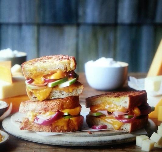 Helen Dujardin offers a sneak peek of a Cabot cheese photo shoot. Photo: @helenedujardin