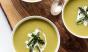 A vibrant bowl of asparagus soup nods to spring's arrival. Photo: @bloggingoverthyme