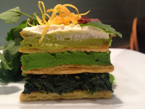 SpinachMilleFeuille