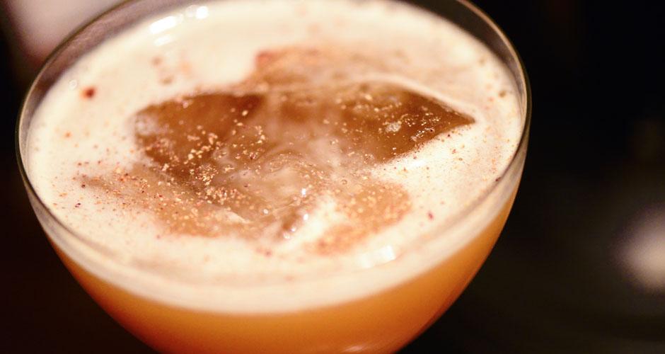 Isaiah Rynders: Jameson Black Barrel Irish Whiskey, Connemara Peated Irish Whiskey, cardamom, ginger, lime, tamarind, vanilla, Orinoco Bitters