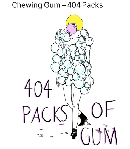 Gum can be
