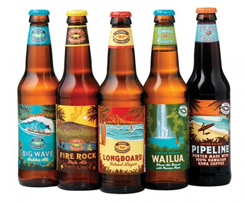 Kona Brewing Company is actually owned by Anheuser-Busch InBev. Photo: Refined Guy.