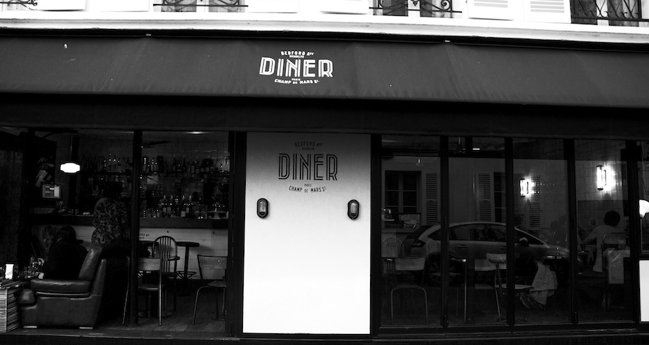 Bedford Avenue in Williamsburg has gone global: You can now enjoy burgers and fries at the Bedford Avenue Diner in the 7th arrondissement.