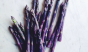 Purple asparagus = spring. Photo: @fortheloveofthesouth