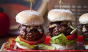 Blue cheese and caramelized onions make these sliders extra fine. Photo: @donalskehan