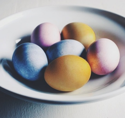 The most beautiful Easter eggs to grace Instagram, thank you. Photo: @fortheloveofthesouth