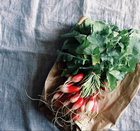 The first breakfast radishes mark the beginning of spring. We like 'em dipped in butter and sea salt. Photo: @lindaspeakeasy