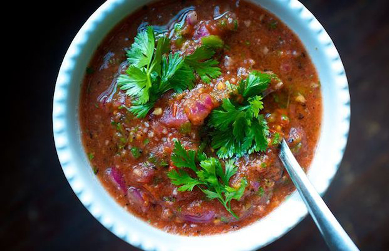 Grilled Salsa. This salsa is smoky, spicy, and totally worth firing up your charcoal grill for.