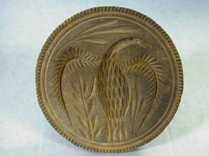 Butter mold, 1825-1875. Wood. The Folk Art Collection of Elie Nadelman, New-York Historical Society