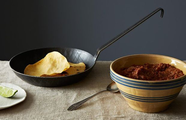 The Splendid Table's Refried Beans with Cinnamon and Clove. A completely inauthentic cheater's method for light and fast refried beans—plus, an unexpectedly sexy spice combo you haven't tried (on beans) yet.