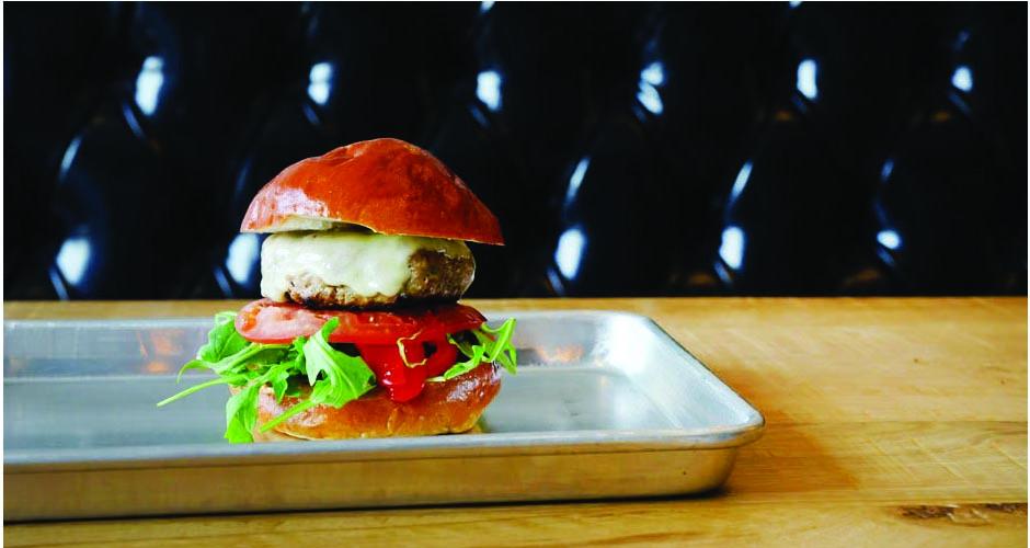 The magnificent Daps Feltman turkey burger—R.I.P (photo: Magdi Fernandes)