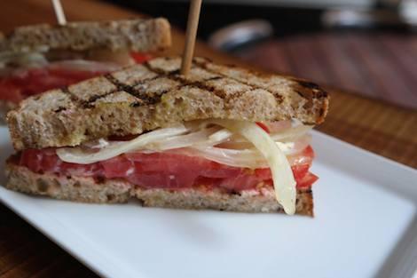 Dad's Tomato Sandwich 3
