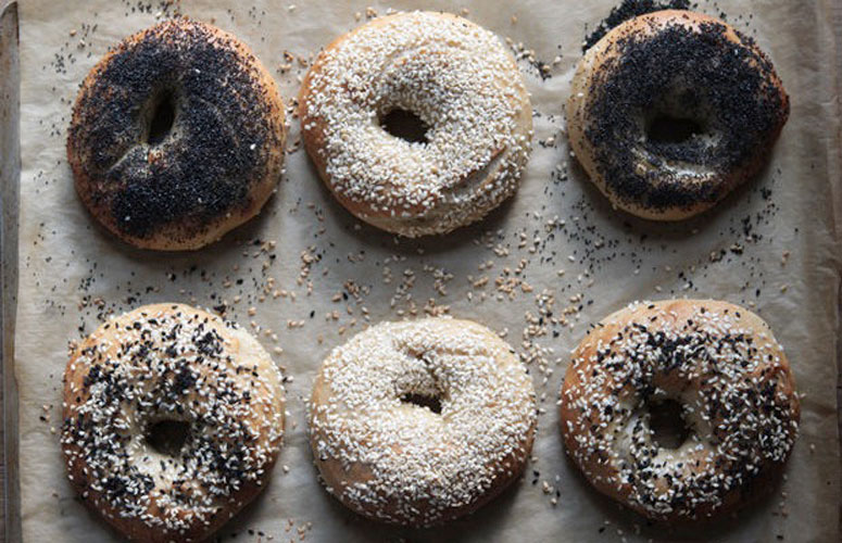 Homemade Bagels. The only thing you can do to mess up these bagels is to make them, say, square.